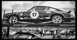 Coche de carreras histórico Fotos de archivo libres de regalías