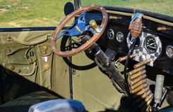 Coche de carreras militar del tema Fotos de archivo