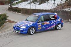 Coche de carreras de Peugeot 106 Fotografía de archivo libre de regalías