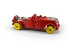 Coche de carreras rojo Foto de archivo