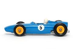 Coche de carreras viejo #3 del coche B.R.M. del juguete Imágenes de archivo libres de regalías