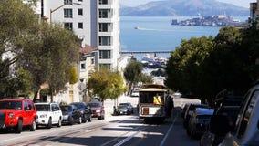 Coche de carretilla de San Francisco almacen de video