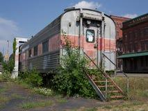 Coche de carril abandonado Imagen de archivo libre de regalías