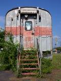 Coche de carril abandonado Imagenes de archivo