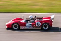 Coche de competición accionado V8 de Chevrolet Foto de archivo