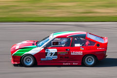 Coche de competición clásico de Alfa Romeo Fotos de archivo libres de regalías