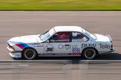 Coche de competición de BMW 635 CSi Imágenes de archivo libres de regalías