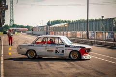 Coche de competición de BMW 3 Ssries Imágenes de archivo libres de regalías