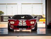 Coche de competición de Ford GT40 Imágenes de archivo libres de regalías