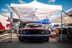 Coche de competición de Ford Mustang Fotos de archivo libres de regalías