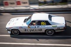 Coche de competición de Jaguar XJS Fotografía de archivo libre de regalías