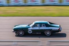 Coche de competición de Jaguar XJS Foto de archivo