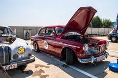 Coche de competición clásico de Volvo Imágenes de archivo libres de regalías