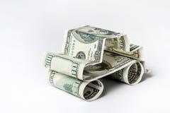 Coche de dólares Foto de archivo