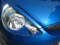 Coche de deportes azul Imagen de archivo libre de regalías