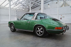 Coche de deportes clásico, Porsche 911 Targa Fotografía de archivo