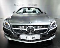 Coche de deportes convertible del SL-Class de Mercedes-Benz Fotos de archivo libres de regalías