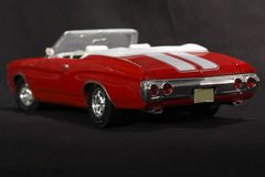 Coche de deportes convertible rojo Foto de archivo libre de regalías
