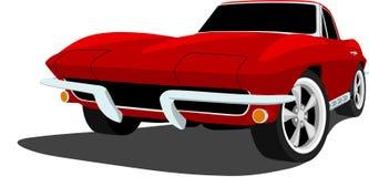 coche de deportes de Corbeta de los años 60 Imágenes de archivo libres de regalías