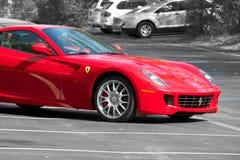 Coche de deportes de Ferrari 599 GTB fotos de archivo libres de regalías