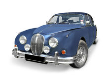 Coche de deportes de Jaguar MK2 Fotografía de archivo libre de regalías