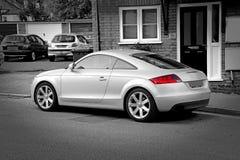 Coche de deportes del amg de Audi tt fotografía de archivo