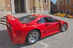 Coche de deportes Ferrari F40 Fotografía de archivo libre de regalías