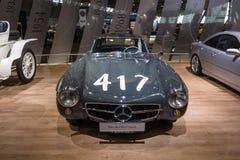 Coche de deportes Mercedes-Benz 300SL W198, 1955 Imagen de archivo libre de regalías