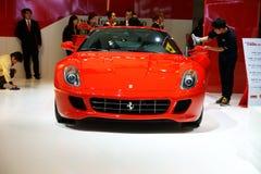 Coche de deportes rojo de Ferrari Fotografía de archivo