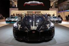 Coche de deportes de Voiture Noire del La de Bugatti imágenes de archivo libres de regalías