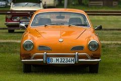 Coche de deportes Volkswagen Karmann Ghia Imágenes de archivo libres de regalías