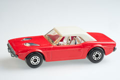 coche de Dodge del juguete Imágenes de archivo libres de regalías