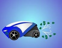Coche de Eco ilustración del vector