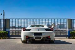 Coche de Ferrari foto de archivo