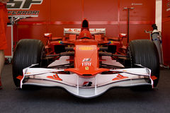 Coche de Ferrari f60 f1 Imagenes de archivo