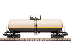 Coche de ferrocarril del tanque Fotos de archivo