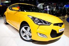 Coche 2013 de Hyundai Veloster. Imágenes de archivo libres de regalías