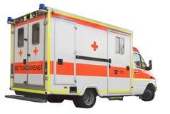 Coche de la ambulancia Fotografía de archivo libre de regalías