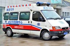 Coche de la ambulancia Fotos de archivo libres de regalías