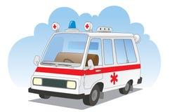 Coche de la ambulancia Foto de archivo