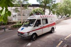 Coche de la ambulancia Imagen de archivo