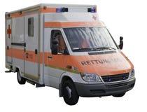Coche de la ambulancia. Imagenes de archivo