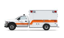 Coche de la ambulancia Foto de archivo libre de regalías