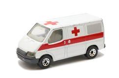 Coche de la ambulancia Fotografía de archivo