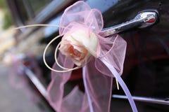 Coche de la boda Imagen de archivo