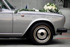 Coche de la boda Fotos de archivo