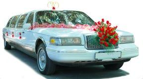 Coche de la boda Imagen de archivo libre de regalías