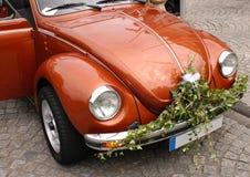 Coche de la boda Imagenes de archivo