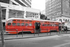 Coche de la calle de San Francisco Imagen de archivo libre de regalías