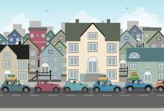 Coche de la ciudad. libre illustration